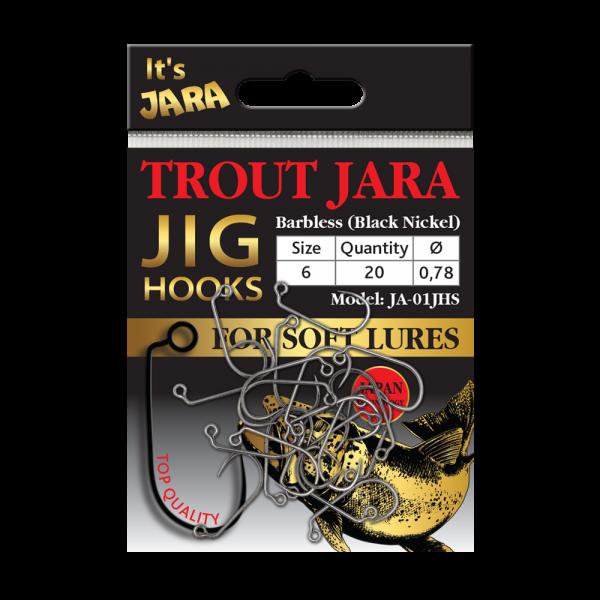 Крючки Trout Jara Jig Hooks #6