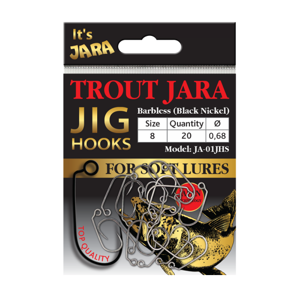 Крючки Trout Jara Jig Hooks #8