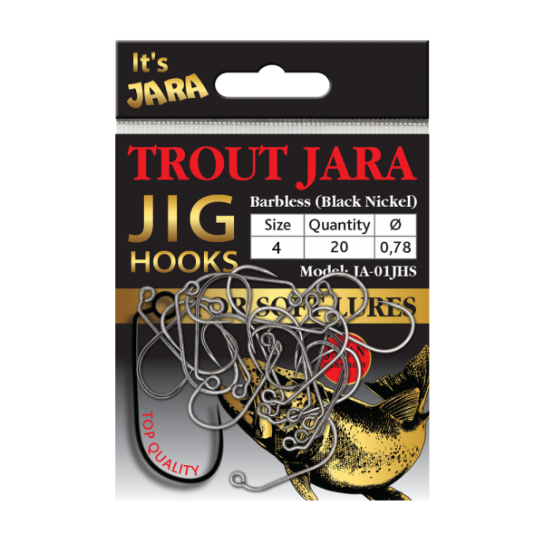 Крючки Trout Jara Jig Hooks #4